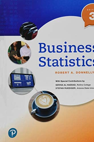Business statistics<br>Robert A. Donnelly, Jr. ; with special...