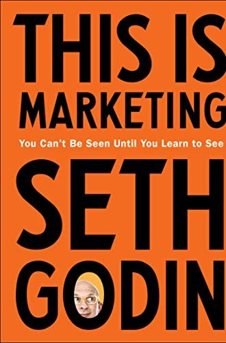 This is marketing<br>Seth Godin