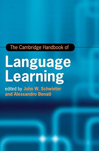 The Cambridge handbook of language learning