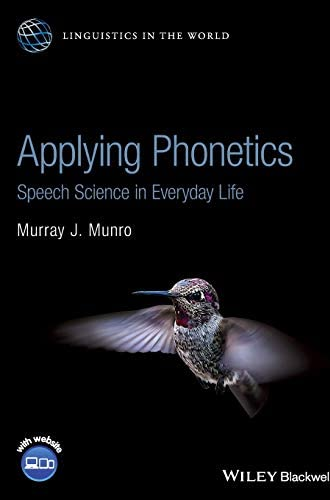 Applying phonetics<br>speech science in everyday life