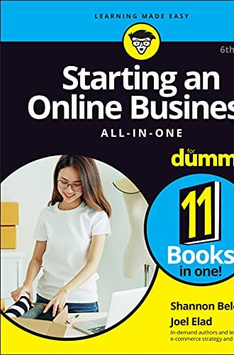 Starting an online business<br>all-in-one