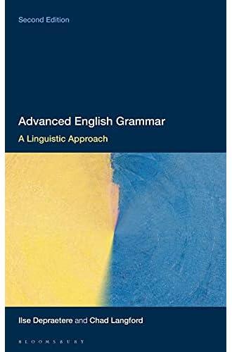 Advanced English grammar<br>a linguistic approach