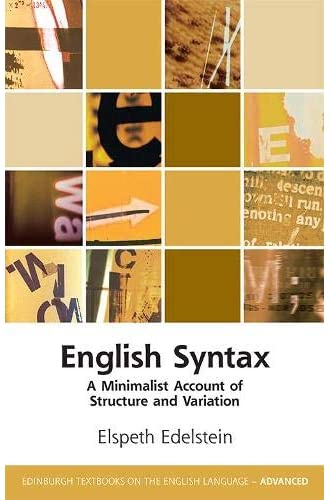 English syntax<br>a minimalist account of structure and varia...