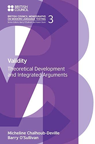 Validity<br>theoretical development and integrated arguments