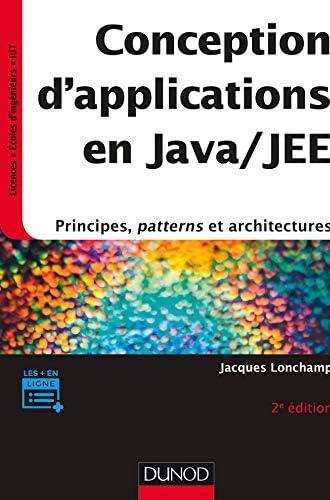 Conception d'applications en Java/JEE<br>[principes, patterns...