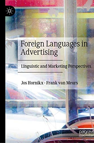 Foreign languages in advertising<br>linguistic and marketing ...