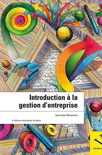 Introduction à la gestion d'entreprise