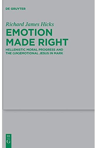 Emotion made right<br>Hellenistic moral progress and the (un)...