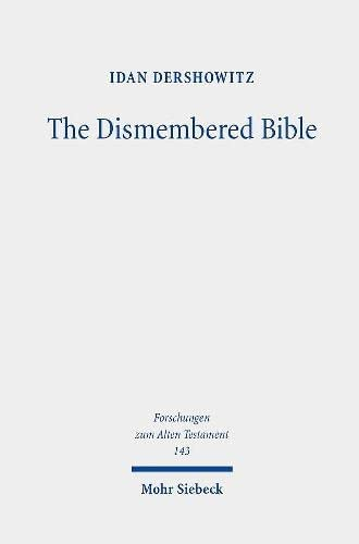 The dismembered Bible<br>cutting and pasting scripture in Ant...