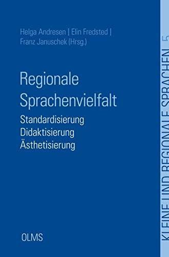 Regionale Sprachenvielfalt<br>Standardisierung - Didaktisieru...