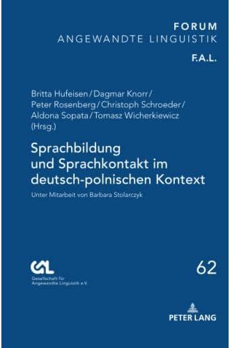 Sprachbildung und Sprachkontakt im deutsch-polnischen Kontex...