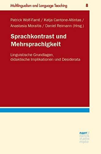 Sprachkontrast und Mehrsprachigkeit<br>linguistische Grundlag...