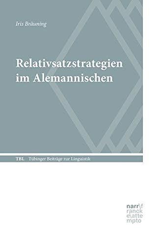 Relativsatzstrategien im Alemannischen