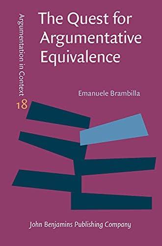 The quest for argumentative equivalence<br>argumentative patt...