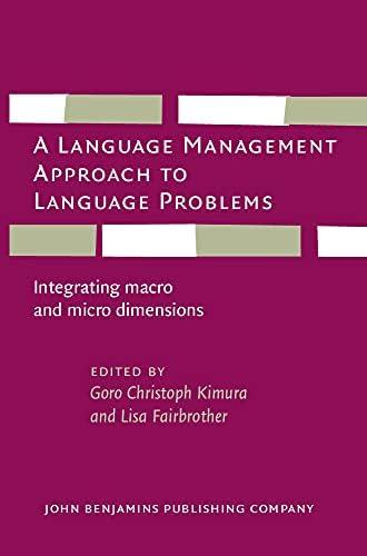 A language management approach to language problems<br>integr...