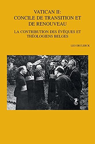 Vatican II: concile de transition et de renouveau<br>la contr...