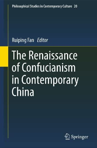 The renaissance of Confucianism in contemporary China<br>ed. ...