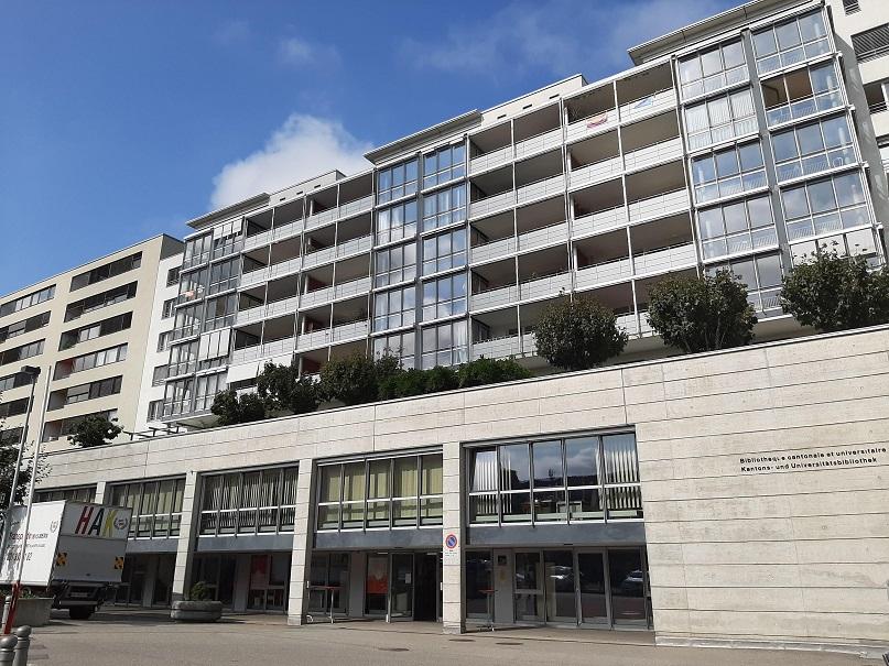 Kantons- und Universitätsbibliothek (KUB-Zentrale) von Freiburg