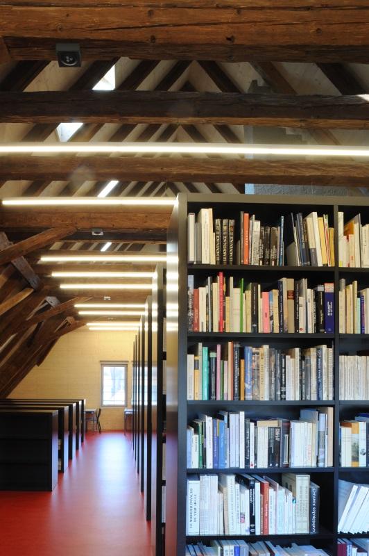 Bibliothèque du Service des biens culturels [SBC] de l'Etat de Fribourg